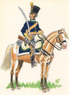 Cazadores de Alcantara 1809