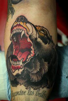 1000 images about bear tattoo justin on pinterest for Aztec tattoo shop phoenix az
