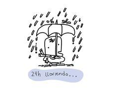 Un finde que llueve sobre mojado