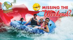 Book your tickets to Jurasik Park Inn and spend a weekday that actually seems as fun as the weekend! To know more information Call us at 8882388843 Natural Waterfalls, Wave Pool, Family Pool, Kid Pool, Boogie Woogie, Physically And Mentally, Water Activities, Dancing In The Rain, Amusement Park