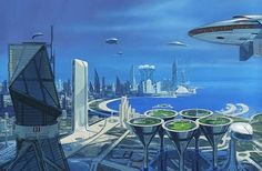 Syd Mead envisions the future of Doha.
