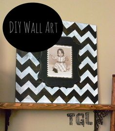 This Girl's Life: DIY Wall Art {Photo Frame}  could cover wood with pretty fabric,or paper too.