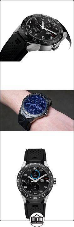 TAG HEUER CONNECTED CINTURINO IN CAUCCIU NERO SAR8A80.FT6045  ✿ Relojes para mujer - (Lujo) ✿ ▬► Ver oferta: http://comprar.io/goto/B01M2A66CZ