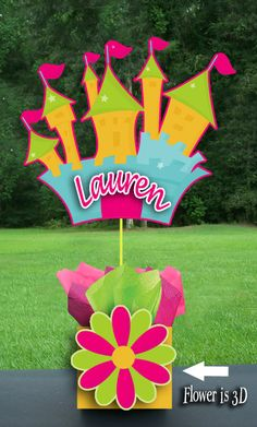 Princess Castle Fairy Crown Party Centerpiece by playpatterns, $35.00
