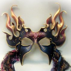 I found 'Night Flame  fine sculpted leather mask' on Wish, check it out!