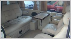 Interior of a Mercedes Vito. Camper Interior Design, Bus Interior, Custom Car Interior, Mercedes Vito Camper, Mercedes Benz Vito, Mercedes Interior, Private Jet Interior, T3 Vw, Istanbul