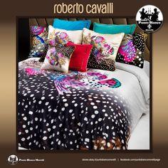 ROBERTO CAVALLI   GALAPAGOS Lenzuola, sopra sotto e due federe - Full bedsheet
