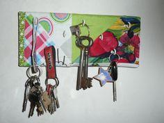 stoffbezogenes Schlüsselboard selber machen | Sewia.de Do It Yourself
