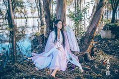 汉服 Traditional Chinese hanfu photography.