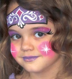 Artistic & Social Makeup – Adriana Orlando … - Easy Make Up Princess Face Painting, Adult Face Painting, Painting For Kids, Kids Makeup, Face Makeup, Up Costumes, Make Up Art, Face Painting Designs, Maquillage Halloween