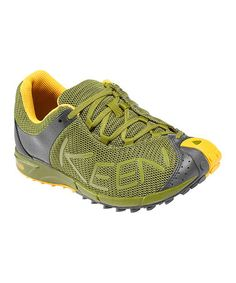 Take a look at this Woodbine & Mineral Yellow A86 TR Running Shoe - Women  by. Keen ...