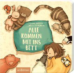 Anna mag nicht alleine in ihrem Bett schlafen. Bei Mama und Papa ist es viel gemütlicher! Das finden auch der Schmusebär, die Tigerkatze, das Kuschelschaf und alle anderen Kinderzimmerbewohner. Und so klettert einer nach dem anderen - hopps - mit i...
