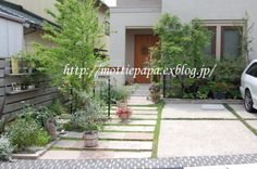 Path Design, Landscape Design, Garden Design, House Design, Japanese Home Decor, Japanese House, Tiny House Exterior, Interior And Exterior, House Entrance