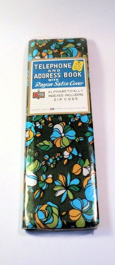 VINTAGE Telephone and Address BOOK