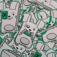 Sticker packs by Stina Jones | stinajones.bigcartel.com