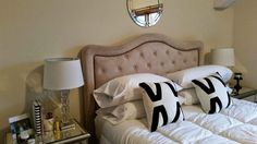 Blush & Gray: Pinterest Bedroom Dupe www.blushandgray.blogspot.com