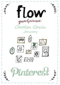 Illustrator Carolyn Gavin will be our guest pinner for January.