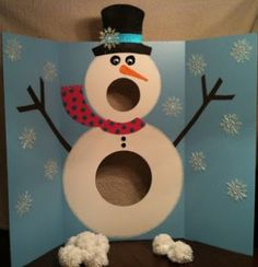 snowman activity Preschool Winter Activities