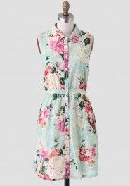 A Fine Lady Floral Dress By Tulle