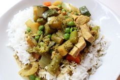 One-Pot Chicken & Vegetable Curry!