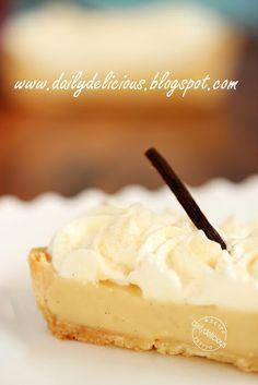 Rum Vanilla Pie...RUM Vanilla Pie....RUM, it rhymes with YUM :)