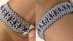 Potawatomi Stitch Bracelet Variation