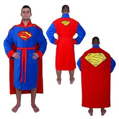 rogeriodemetrio.com: DC Comics Superman Cape Bathrobe