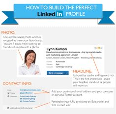 6 Steps To Building A Killer LinkedIn Profile (Infographic) | Fast Company | Business + Innovation