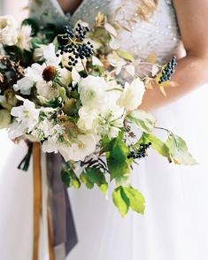 One Couple's Elegant Lakeside Wedding in South Carolina Bright Wedding Flowers, Summer Wedding Bouquets, Rustic Wedding Flowers, Fall Wedding Colors, Flower Bouquet Wedding, Floral Wedding, Bridal Bouquets, Elegant Couple, Lakeside Wedding