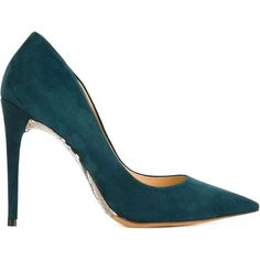 Alexandre Birman Python Effect Sole Pumps ($164) ❤ liked on Polyvore featuring shoes, pumps, heels, footwear, blue, python print shoes, python shoes, snake print shoes, blue suede shoes and heel pump