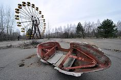 City of Prypiat, Ukraine, closest city to Chernobyl Nuclear Power Plant. #Revolution