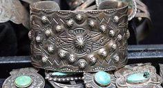 Fred Harvey era silver bracelet
