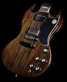 Used Gibson SG Standard Electric Guitar Transparent Ebony