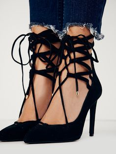 Jeffrey Campbell + Free People Hierro Heel at Free People