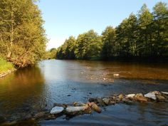 River Otava in small village Čepice, Czech Republic :-)