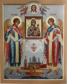 Credem că ți-ar plăcea aceste Pinuri - bedo4756@gmail.com - Gmail Religious Images, Religious Icons, Religious Art, Gabriel, Byzantine Art, Russian Orthodox, Orthodox Christianity, Orthodox Icons, Angel Art