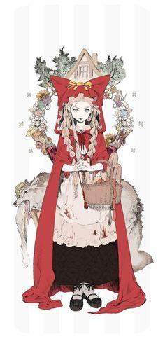 赤ずきんiPhoneケース - Arbuscule - BOOTH(同人誌通販・ダウンロード)