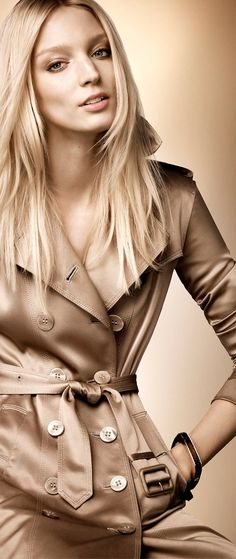 Burberry Rose Gold Trench