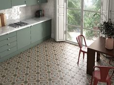 Looking for Quality Tiles In Dublin? Look no further than Italian Tile & Stone Studio where you will find the latest wall and floor tiles for kitchens & bathrooms. Kitchen Tiles, Kitchen Art, Kitchen Flooring, Kitchen Cabinets, Art Nouveau, Country Interior Design, Victorian Tiles, Italian Tiles, Encaustic Tile