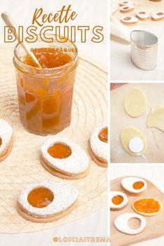Recette 100% gourmande avec en bonus un DIY pour créer votre propre emporte-pièce en forme d'œuf ! Biscuits, Cantaloupe, Cereal, Fruit, Breakfast, Blog, Diy, Chocolates, Shape