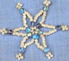 Beaded Star - DIY Craft Project Instructions