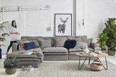 Mix and experiment with textures to add new life in your living space. Take the striking pattern of our Braided Diamond rug and pair it with the Cotton Drill Slouch Couch. Add some velvet and fur cushions and voila! The transformation is complete. For a limited time only, when you buy any rug from Early Settler, you get 25% off all rugs plus shipping from $9.95!