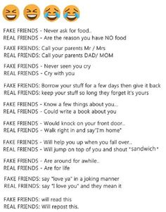 What do you think? yeah then I have 2 real friends and tons of fake friends. Fake Friends Meme, Fake Friend Quotes, Funny Dating Quotes, Dating Memes, Meant To Be Quotes, Divorce Quotes, Teen Posts, Single Mom Quotes, Humor