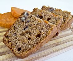 This Sweet Potato Pecan Bread was inspired by the autumn favorite, candied sweet…