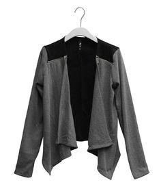 Jacke mit weich fallendem Schalkragen für 15,99€ unser Mode Highlight! @ www.mycolloseum.com