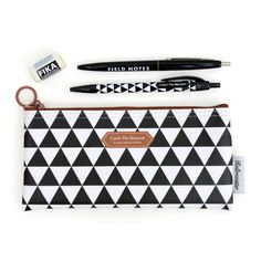 Rollercoaster Catch the moment black triangle pencil case (http://www.fallindesign.com/rollercoaster-catch-the-moment-black-triangle-pencil-case/)