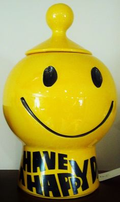 #smile #jar #cookie #decor #art #vintage