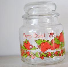 Image detail for -vintage Strawberry Shortcake cookie candy jar by MyraMelinda