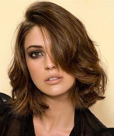 Medium Layered Hair Style