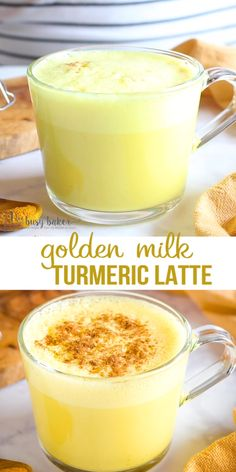 This Easy Healthy Golden Milk Turmeric Latte is the perfect warm, comforting drink that's packed with nutrition and antioxidants. Make it with milk and honey, or maple syrup, or low carb and vegan! Healthy Nutrition, Healthy Drinks, Nutrition Articles, Healthy Mayo, Healthy Eating, Nutrition Bars, Sports Nutrition, Nutrition Education, Tea Recipes